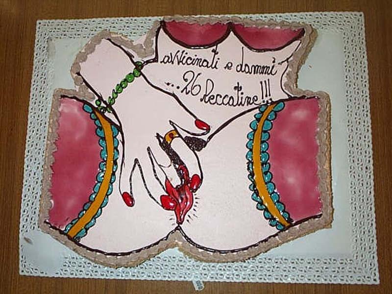 Popolare Torte sexy compleanno - Arte Bianca XB07