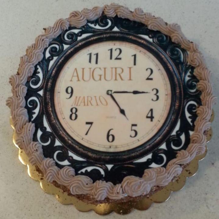 Torte personalizzate orologio